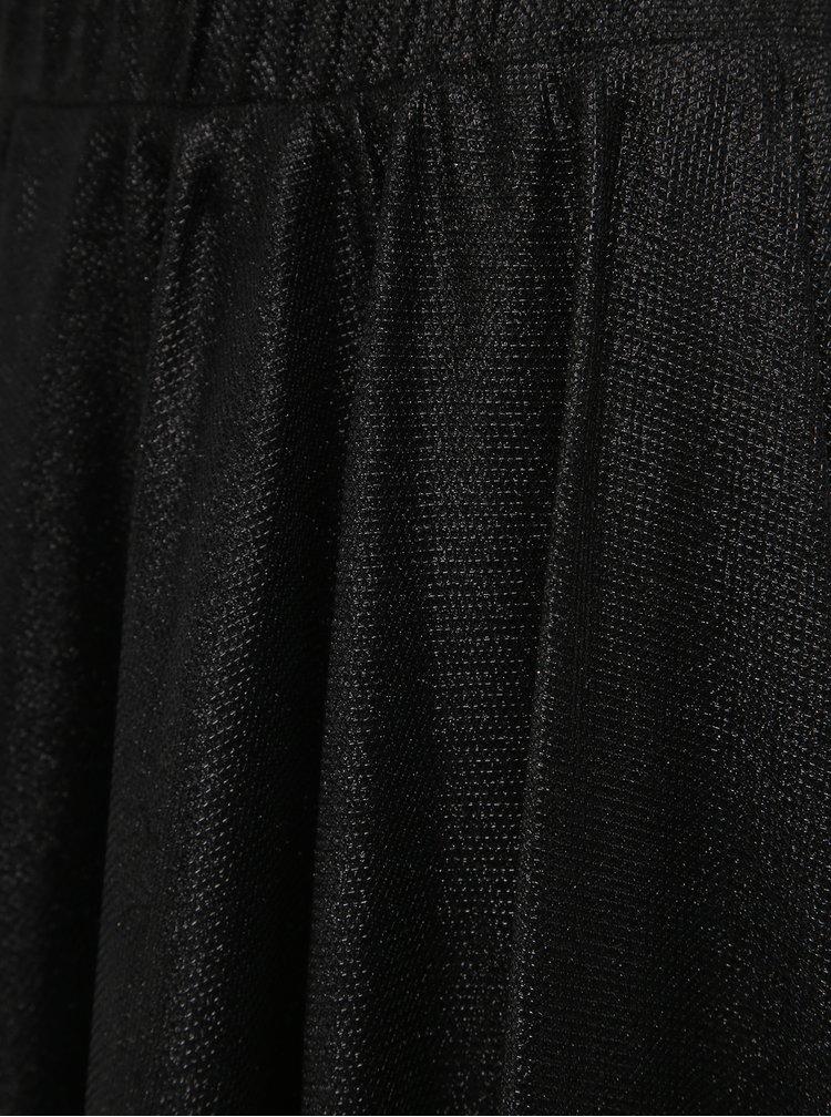 Čierna trblietavá sukňa VILA Lena