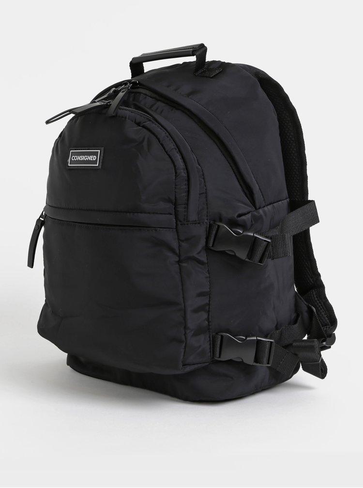 Černý batoh Consigned Barton