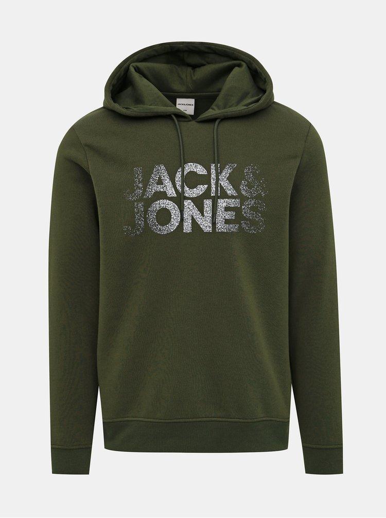 Zelená mikina Jack & Jones Thunder