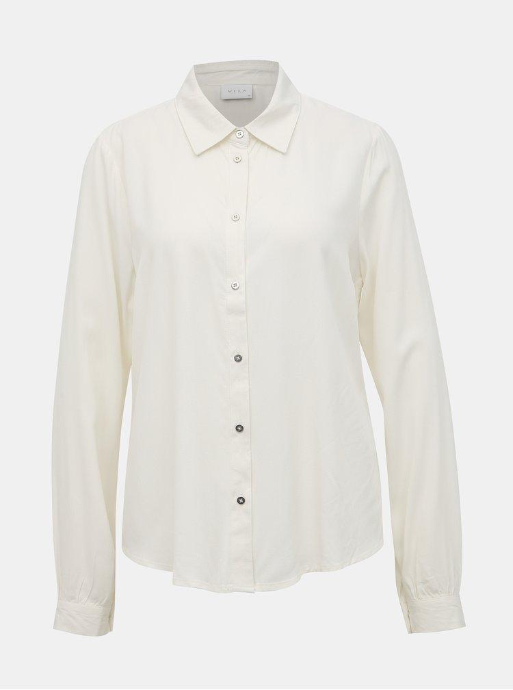 Bílá košile VILA Jamille