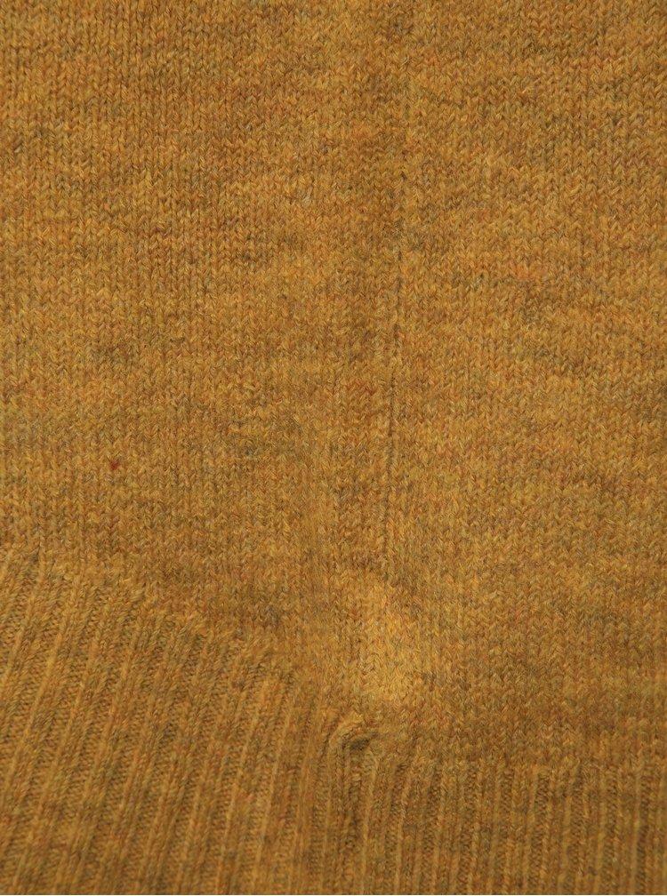 Hořčicový basic svetr ONLY Nanjing