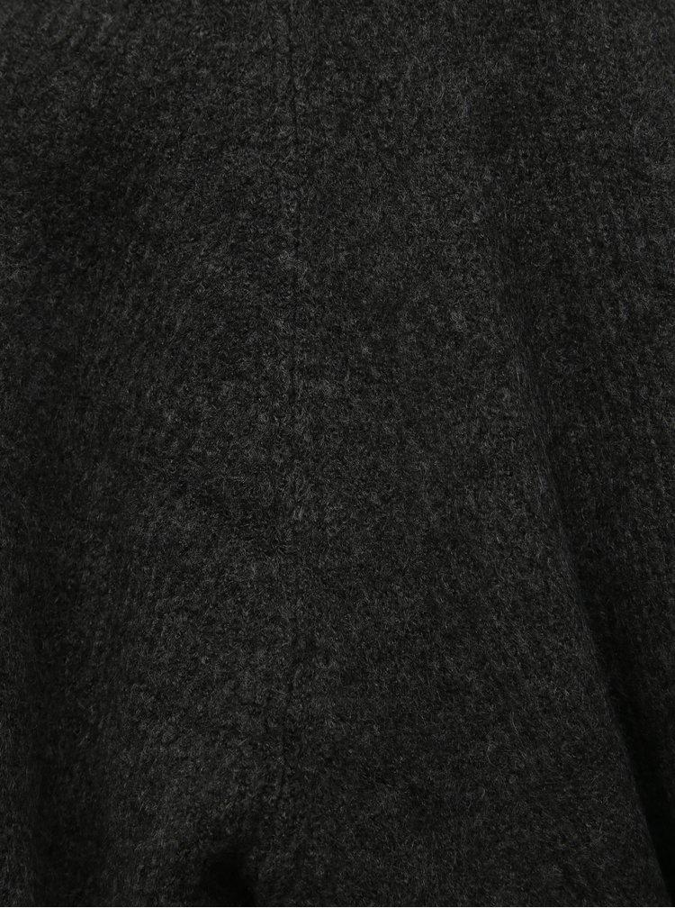 Tmavošedý kardigan Jacqueline de Yong Victus
