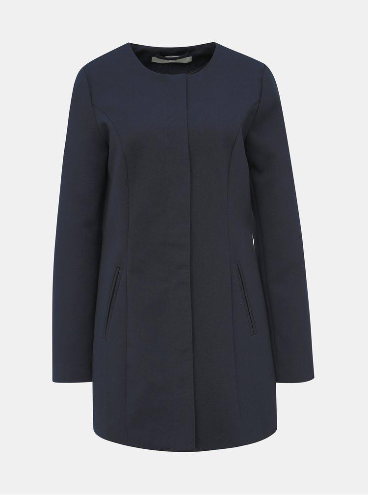 Tmavě modrý kabát Jacqueline de Yong New Brighton
