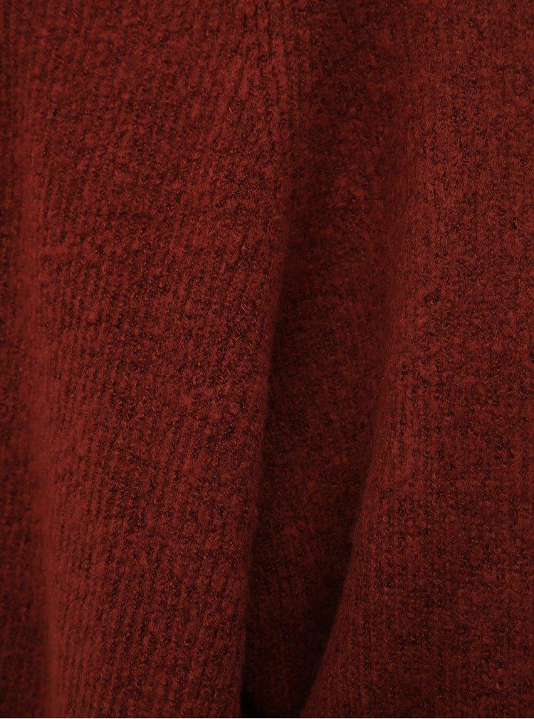 Hnedý kardigan Jacqueline de Yong Victus