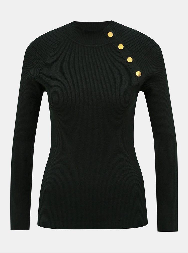 Tmavozelený sveter Jacqueline de Yong Plum