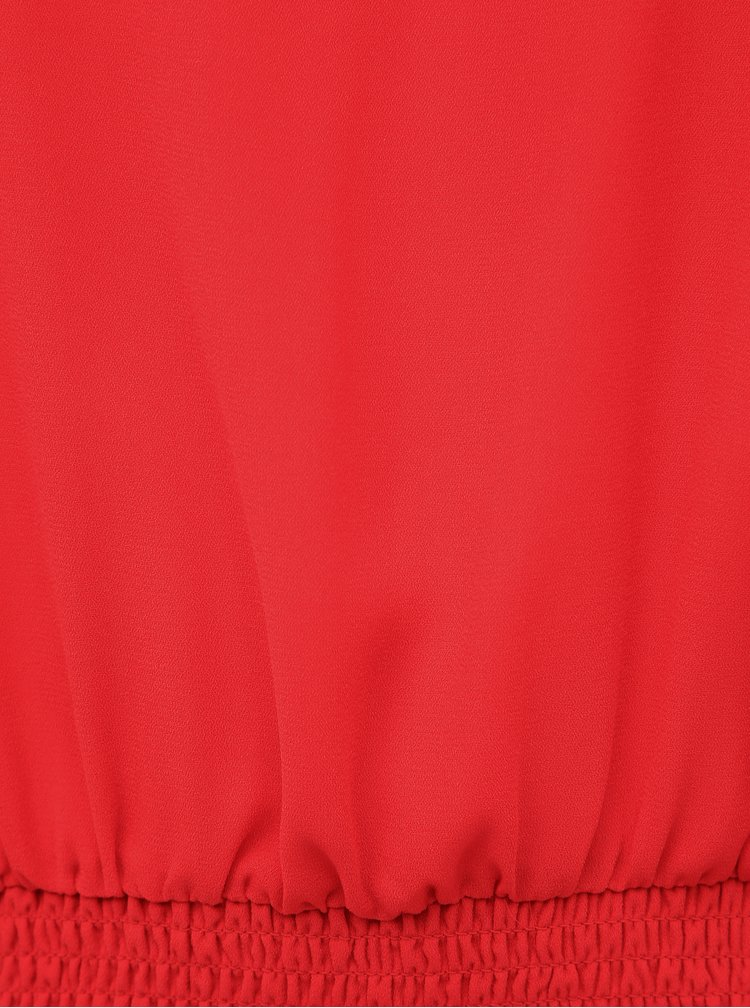 Červená halenka ONLY CARMAKOMA Bossa