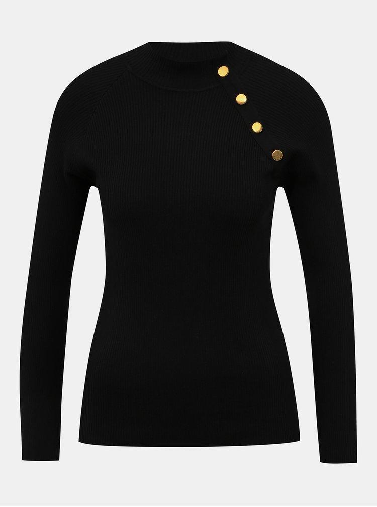 Čierny sveter Jacqueline de Yong Plum