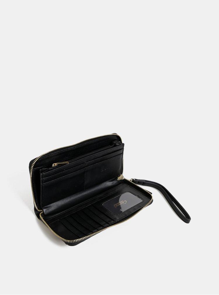 Hnedá peňaženka s leopardím vzorom Gionni