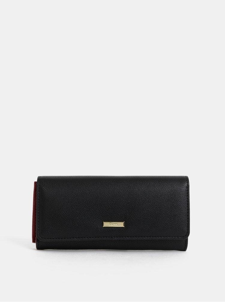 Černá peněženka Gionni