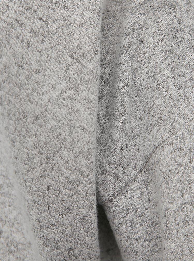 Šedý basic svetr VERO MODA Belinda