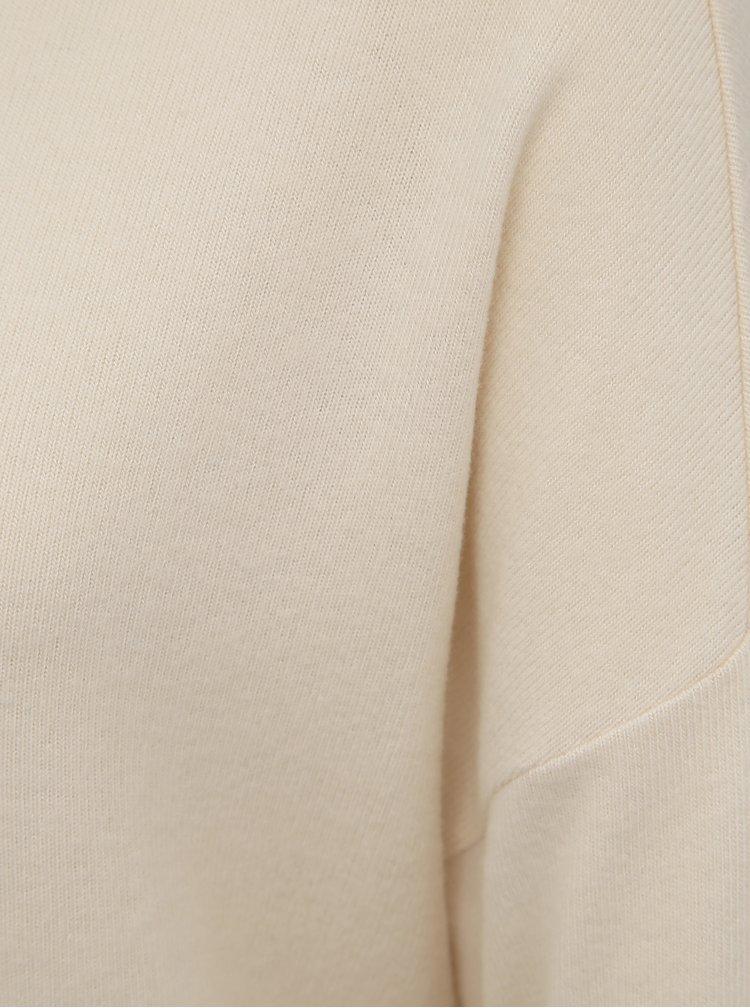 Krémový basic sveter VERO MODA Belinda