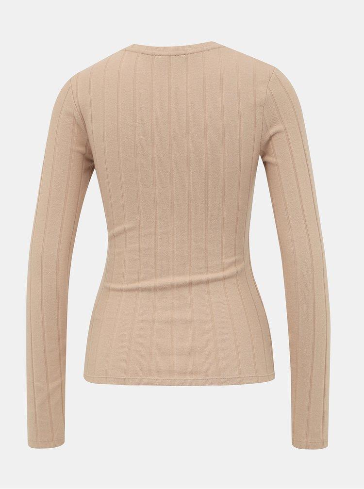 Béžový basic sveter TALLY WEiJL