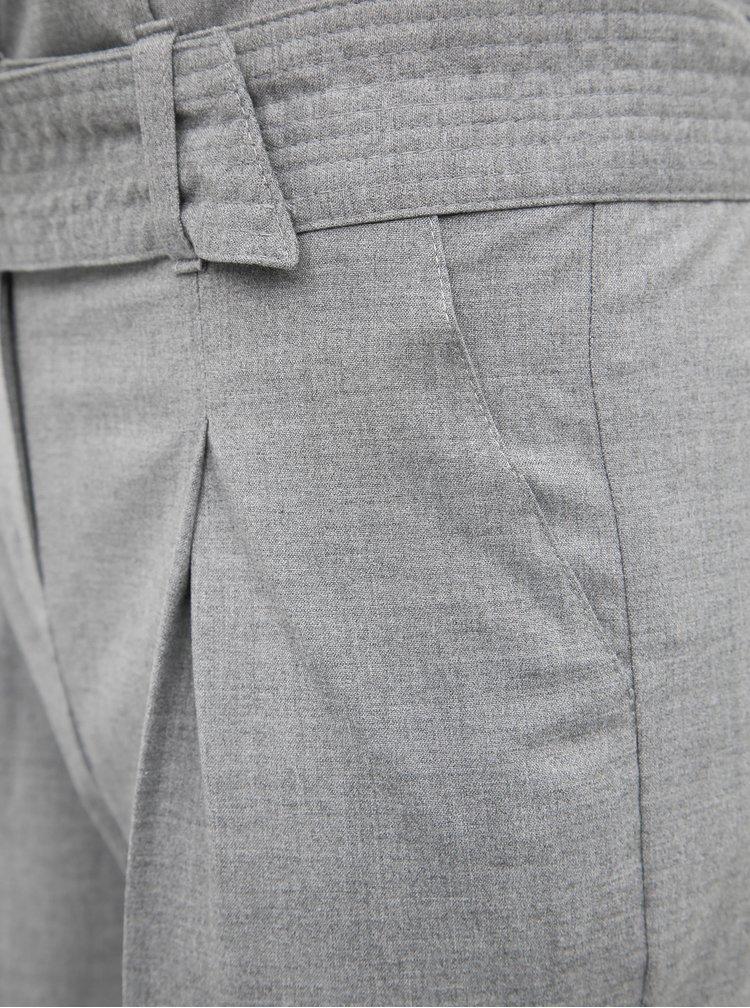 Šedé zkrácené kalhoty TALLY WEiJL