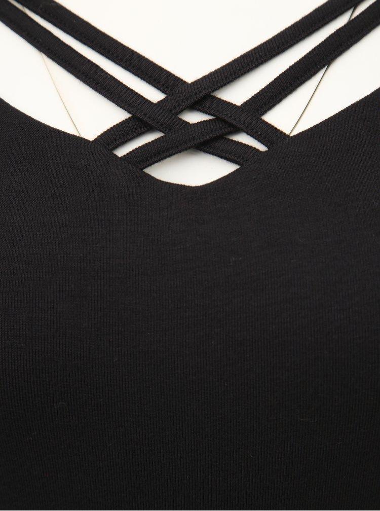 Černé tričko TALLY WEiJL