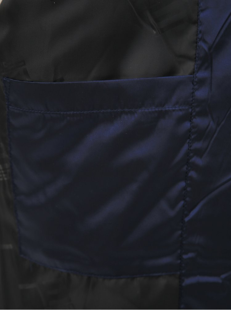 Tmavomodrá pánska prešívaná bunda SAM 73