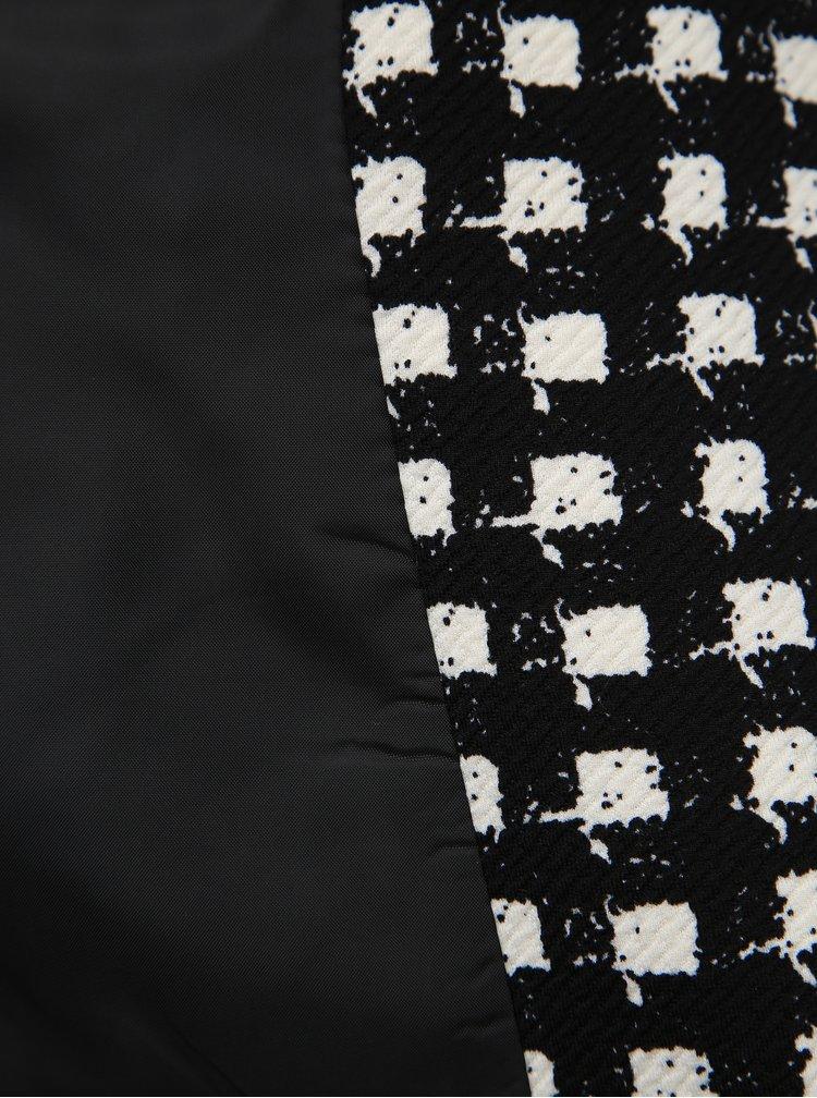 Bílo-černé kostkované sako Dorothy Perkins