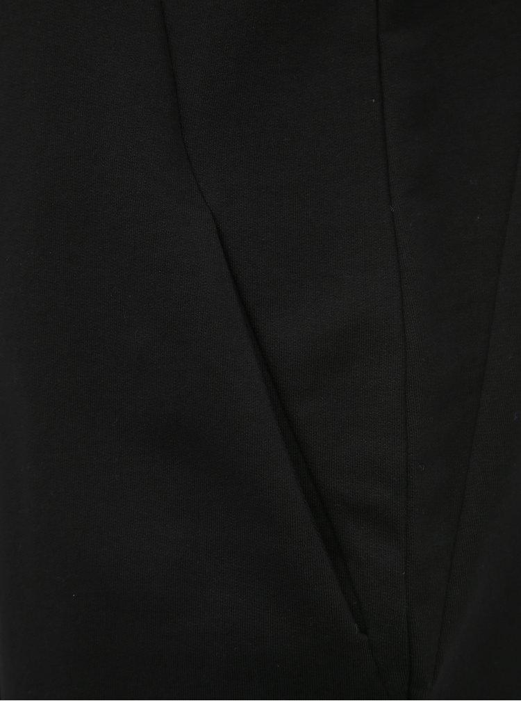 Černé mikinové šaty ZOOT Hana