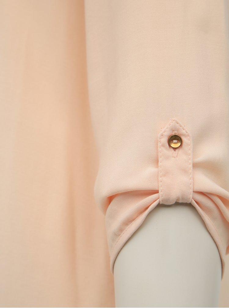 Světle růžová halenka Vero Moda Boca