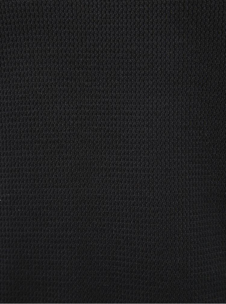 Černý basic svetr Selected Homme Shane