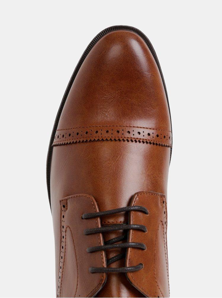 Hnedé pánske polobotky Burton Menswear London