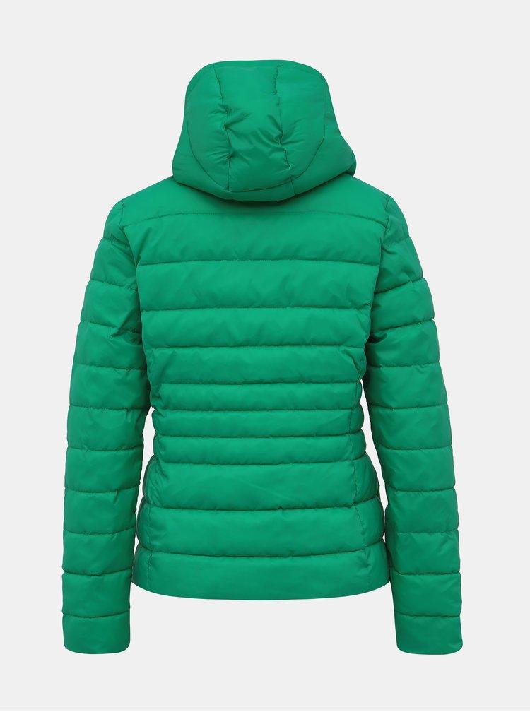 Zelená dámská prošívaná zimní bunda Haily´s Dora