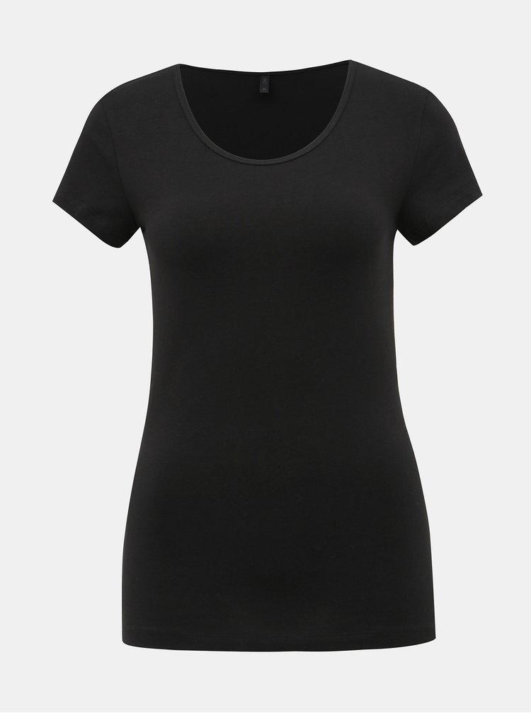 Čierne basic tričko ONLY Live Love