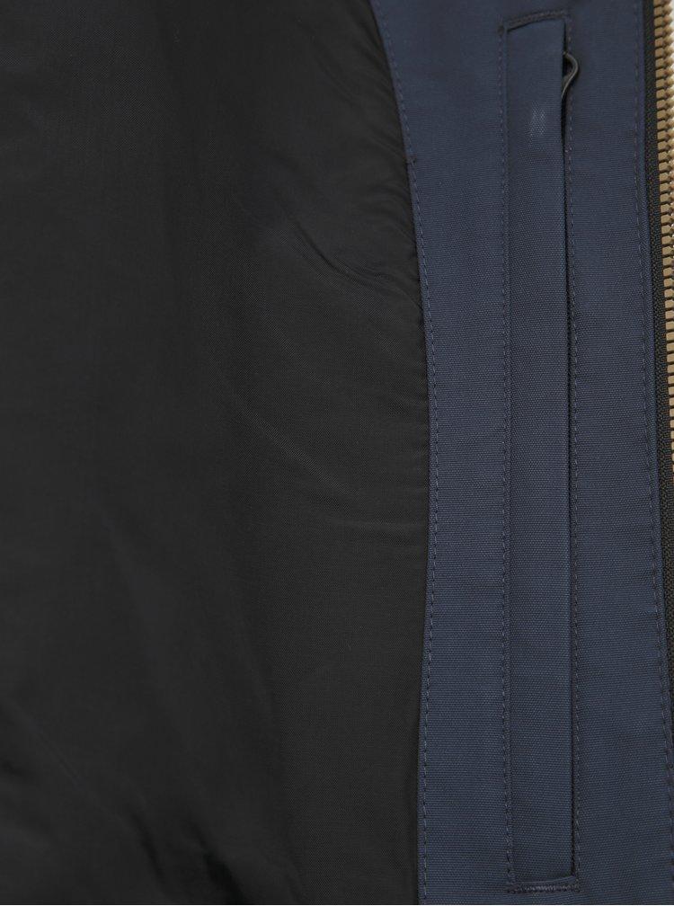 Hnedo-modrá pánska funkčná ľahká bunda Horsefeathers Cedar