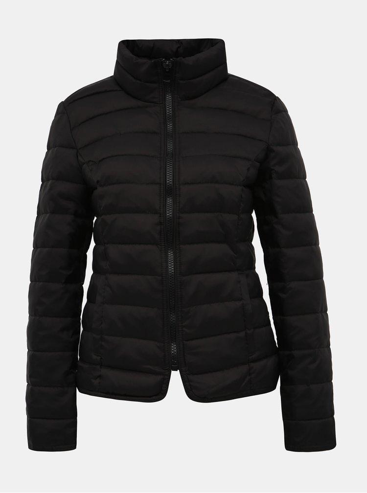 Černá prošívaná zimní bunda Haily´s Dora