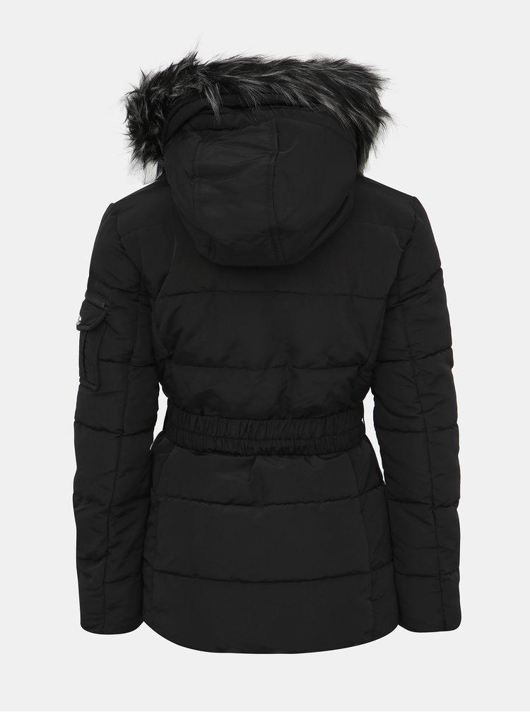 Černá dámská zimní bunda Haily´s Julika