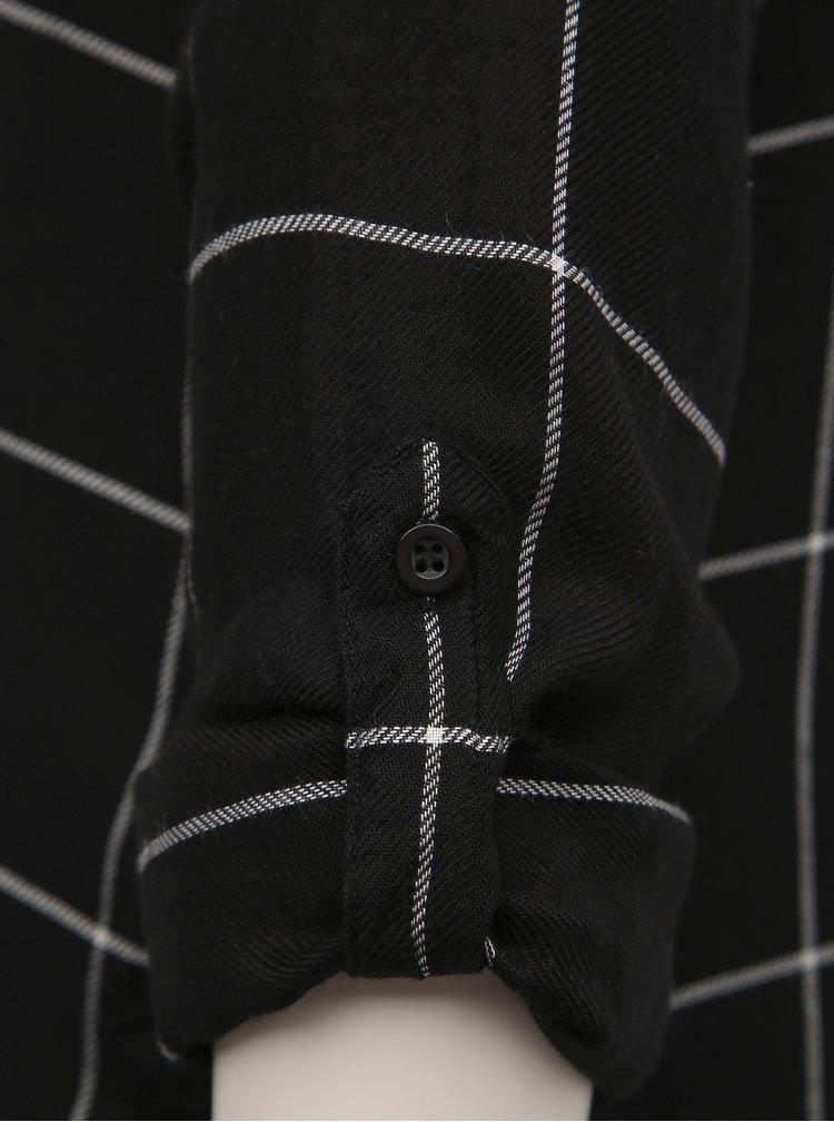 Černá dámská kostkovaná košile Haily´s Meral