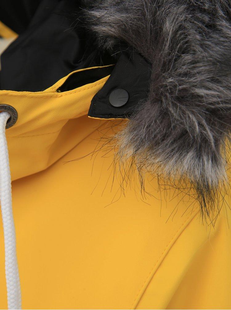 Žlutá dámská funkční zimní parka Horsefeathers Luann