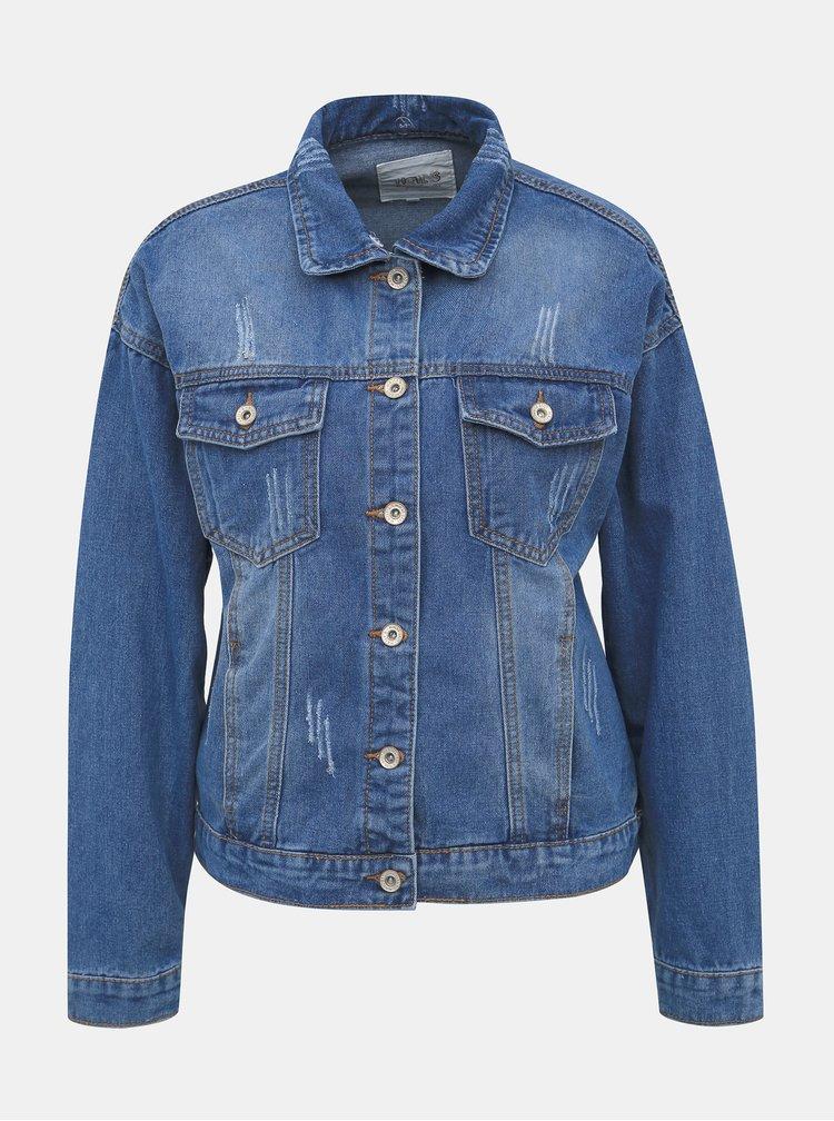 Modrá dámská džínová bunda Haily´s Maxie