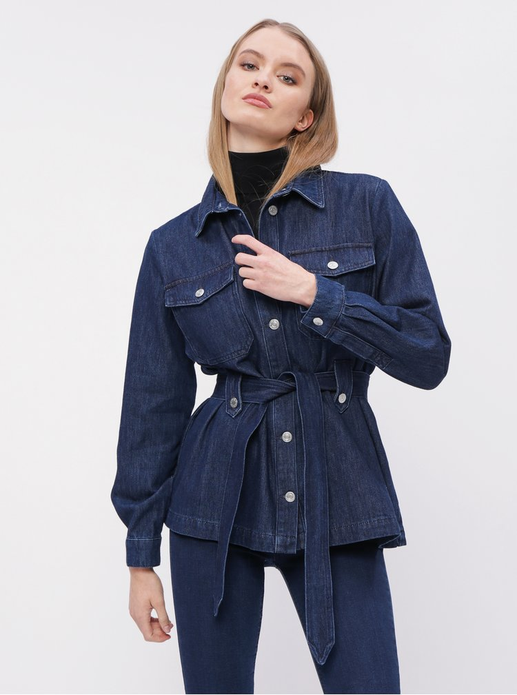 Modrá rifľová bunda Selected Femme Dana