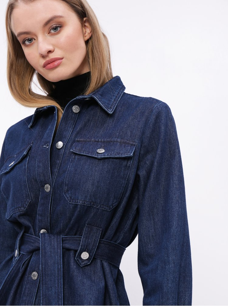 Modrá džínová bunda Selected Femme Dana