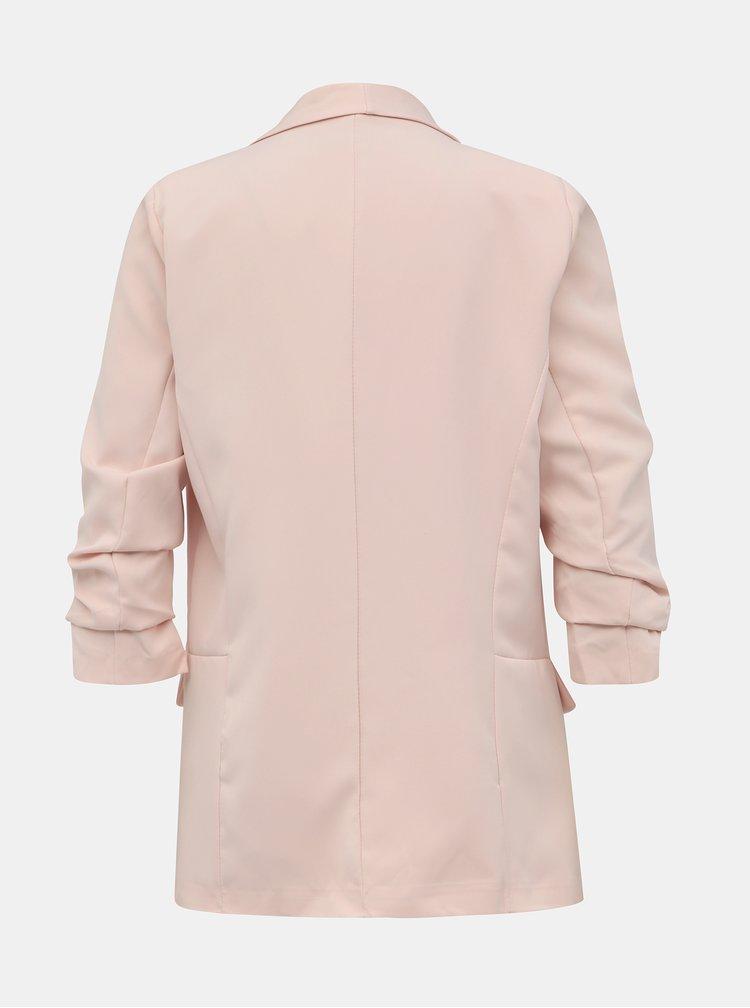 Svetloružové dámske sako Haily´s Livia
