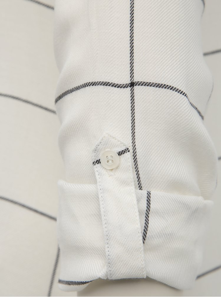 Bílá dámská kostkovaná košile Haily´s Meral