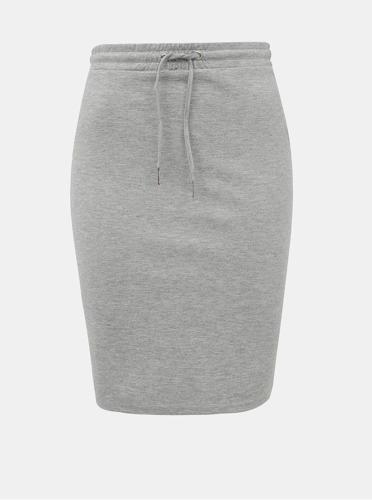 Světle šedá pouzdrová sukně Haily´s Jily