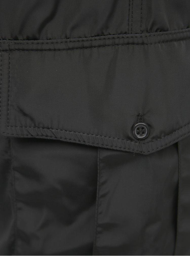 Čierne dámske šušťákové nohavice s vreckami Haily´s Tracky
