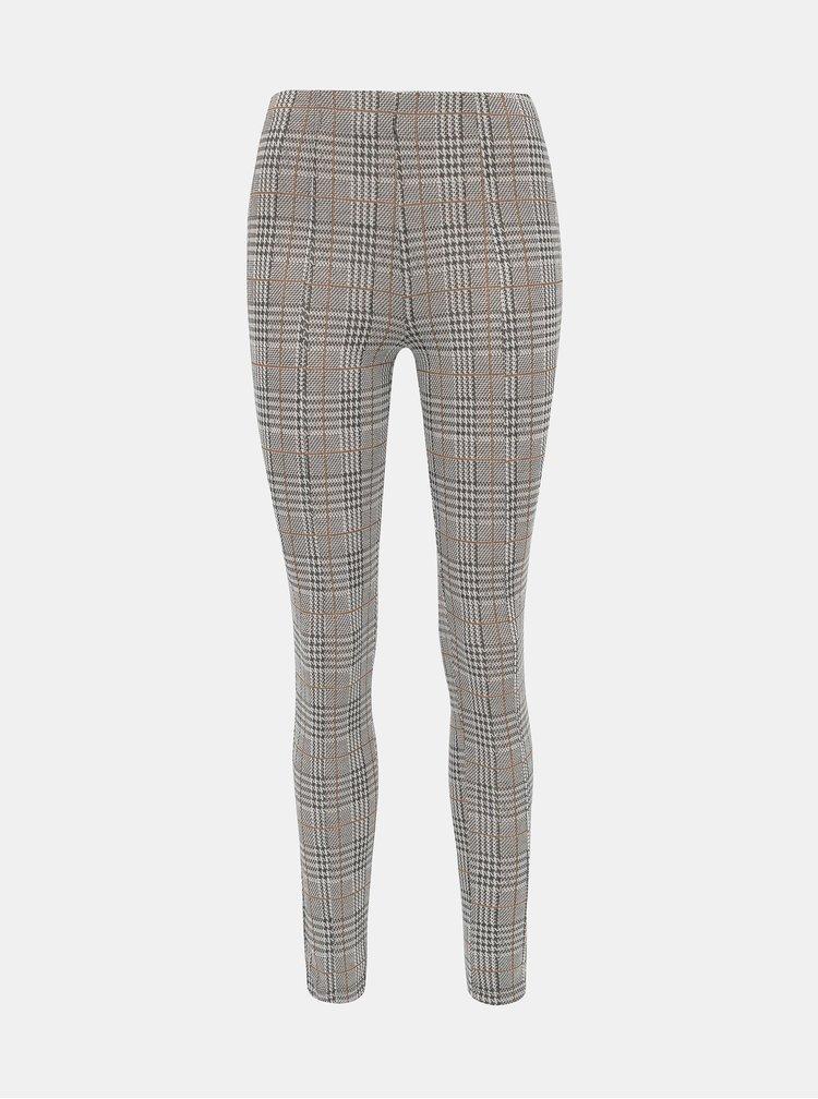 Šedé dámske vzorované nohavice Haily´s Gloria