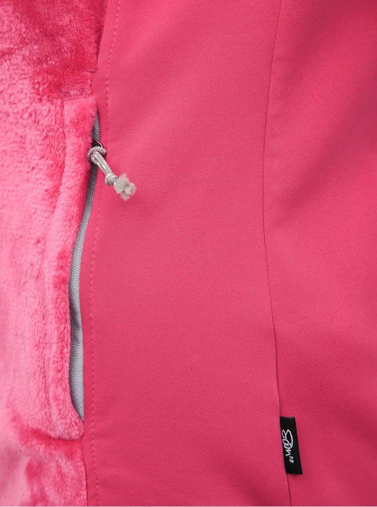 Růžová dámská mikina SAM 73