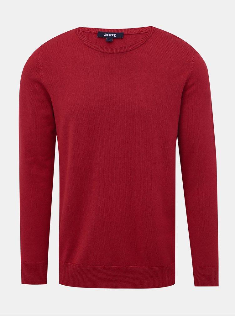 Červený pánský basic svetr ZOOT