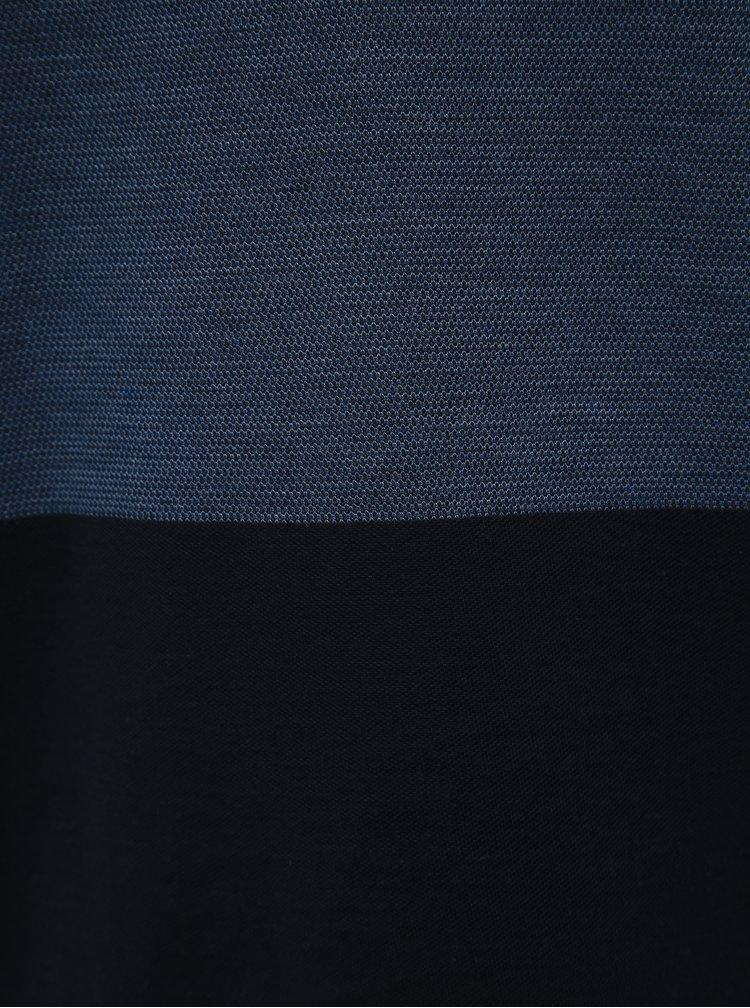 Modré tričko Selected Homme Kevin