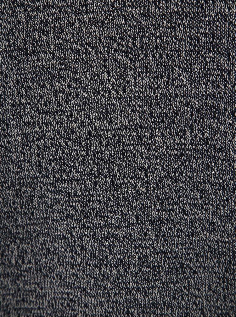 Tmavě modrý vzorovaný svetr Selected Homme Haiden