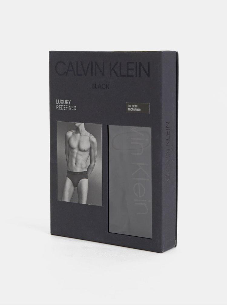 Černé slipy Calvin Klein Underwear