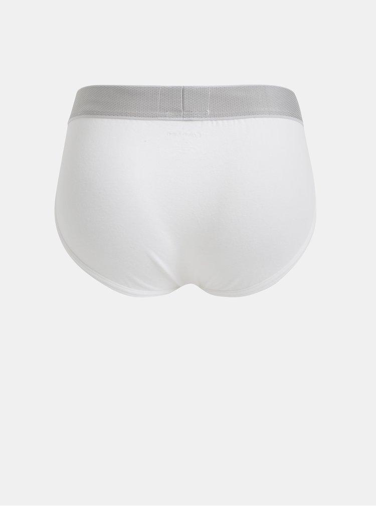 Bílé slipy Calvin Klein Underwear