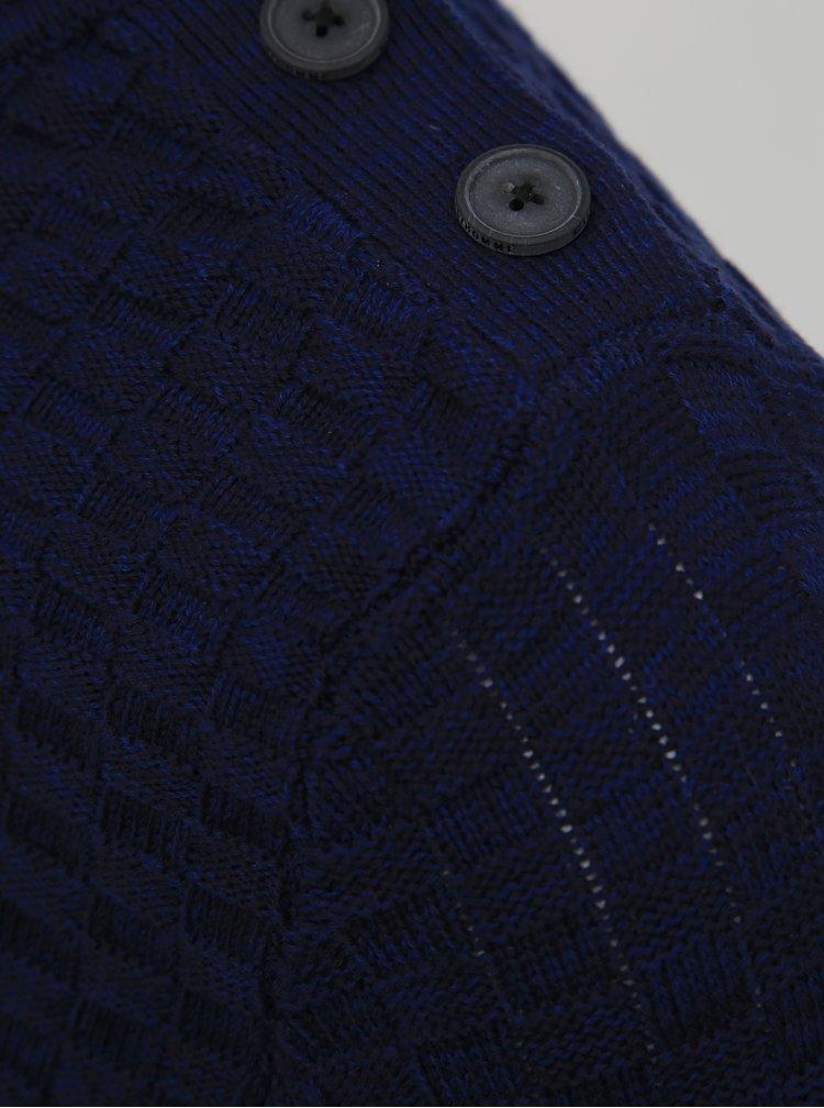Modrý svetr Selected Homme Square