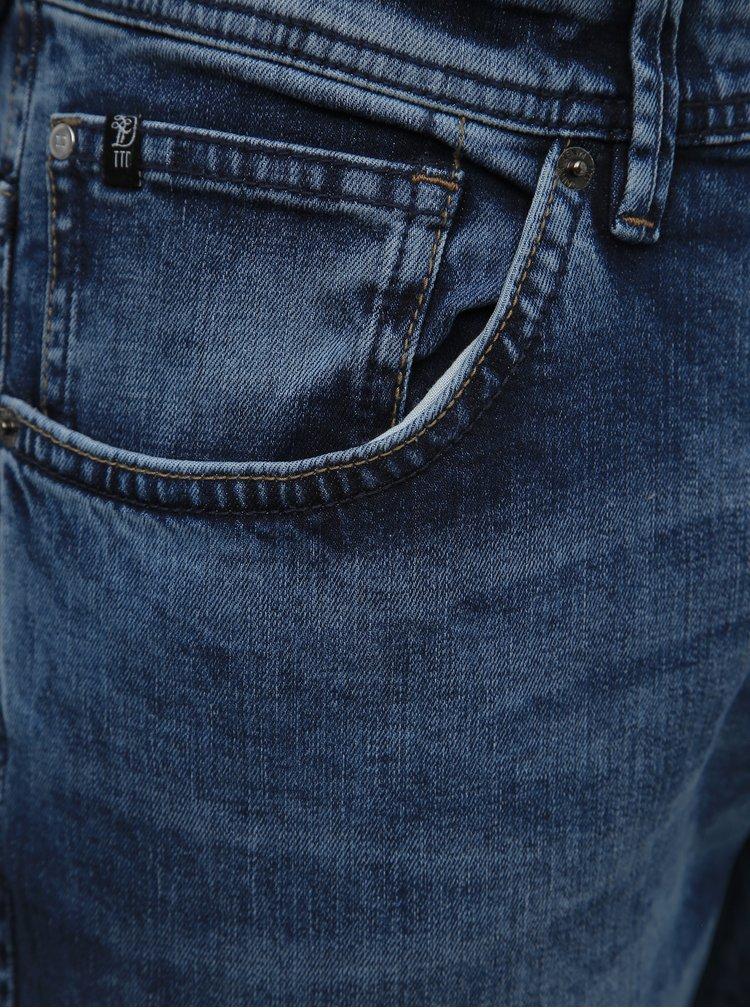 Modré pánské slim fit džíny Tom Tailor Denim