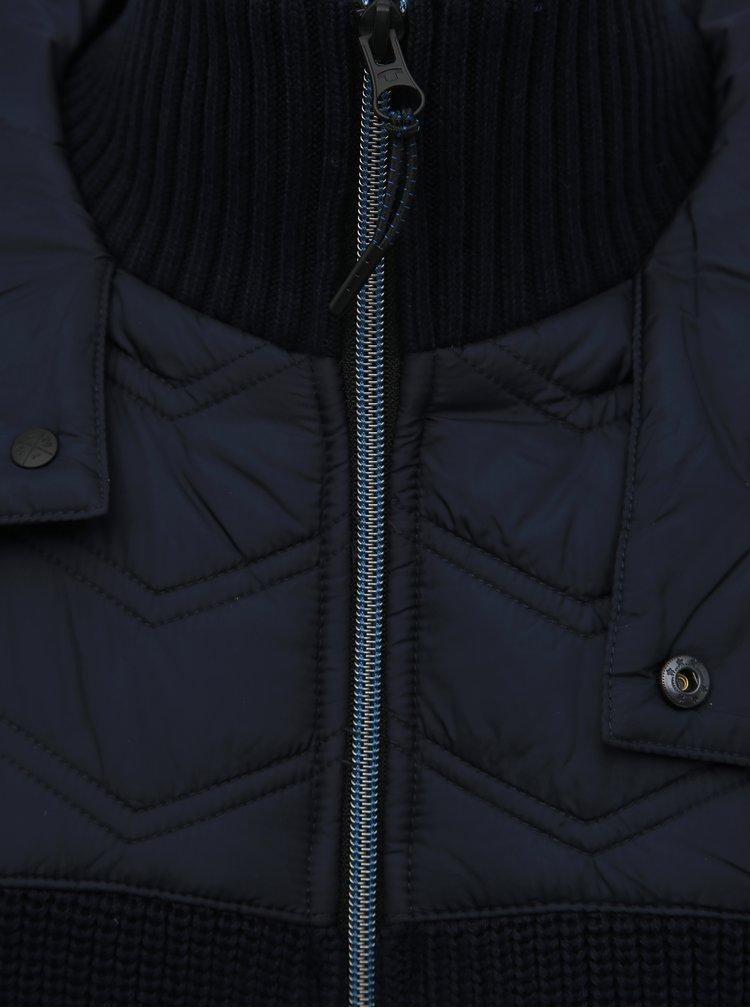 Tmavě modrá pánská bunda Tom Tailor