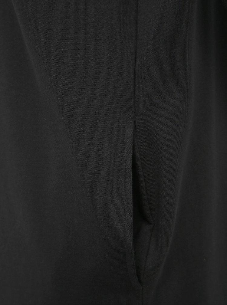 Černý mikinový kardigan Noisy May Luni