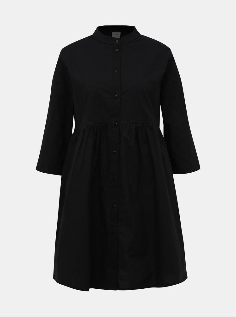 Černé košilové šaty Jacqueline de Yong Ulle